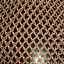 Decorative wire mesh curtains / ring wire mesh / chain link curtain