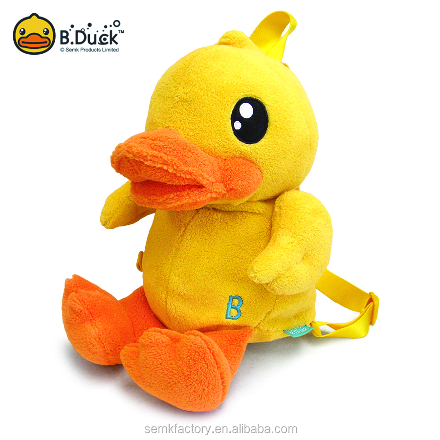 Hot sale high quality popular kids animal plush toy backpack