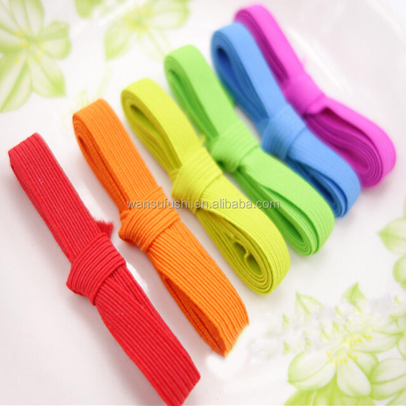 hot sale woven elastic band for dust mask