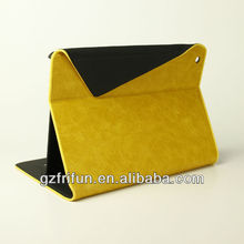 New PU leather PC material back tablet case for ipad air
