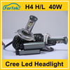 h4 40w led car headlight