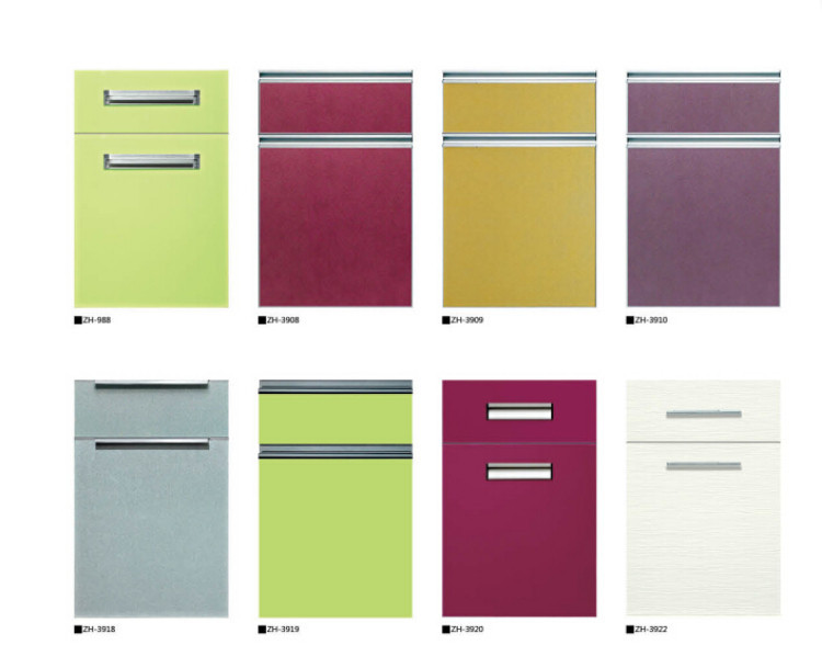 Selected customized UV coated melamine door panel