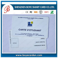 CR80 Plastic Card Contactless RFID Smart