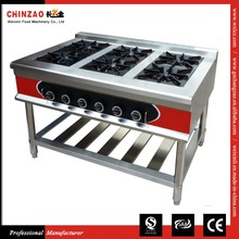 CHINZAO Buying Chinese Products Vertical Automatic 6 Burner Automatic Gas Power Cooking Stove