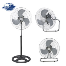 3Pcs Metal Blade 18 Industrial Electric Stand Fan 3 In 1