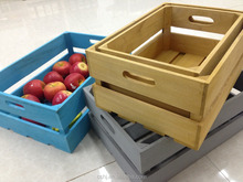 cheap wooden fruit vegetable crates box for sale