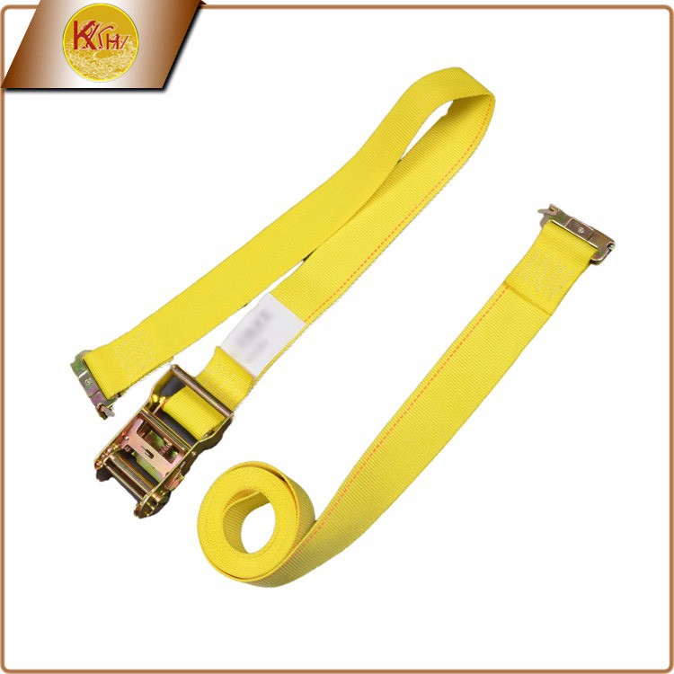 Quick Delivery Time High Tensile motorcycle lashing ratchet strap