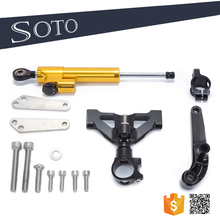Soto racing - CNC Motorcycle Steering Damper with bracket kits for Kawasaki ZZR1400 ZX14R 2006-2015