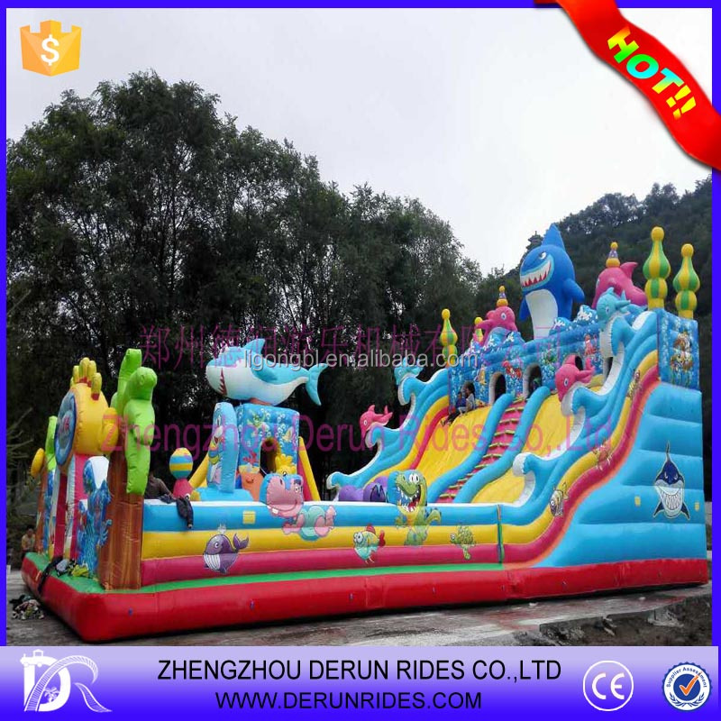 Inflatable bounces wholesale ,used commerical playground equipment sale