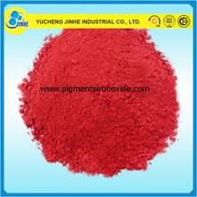 iron oxide red 101/110/130/190 for Bitumen Synthetic Polvo