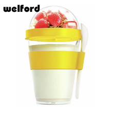 New style plastic yogurt round bottle