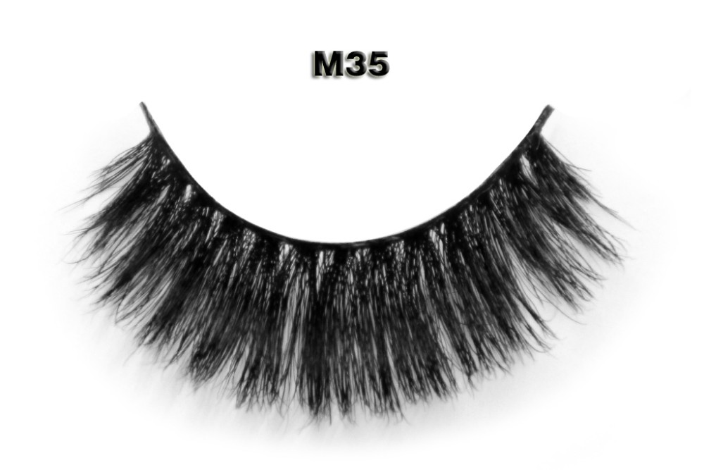 12 years factory offer real mink volume 3d silk lashes