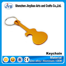 music souvenir gift custom concert gift guitar shape key chain for sale