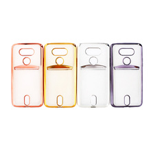High quality electroplating TPU cover case for LG G5,tpu phone case cover for LG G5