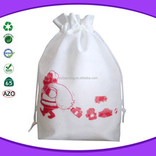 Small non woven drawstring tote gift bags for kids