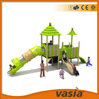Amusement equipment Sliding board For kids outdoor plastic jungle gyms