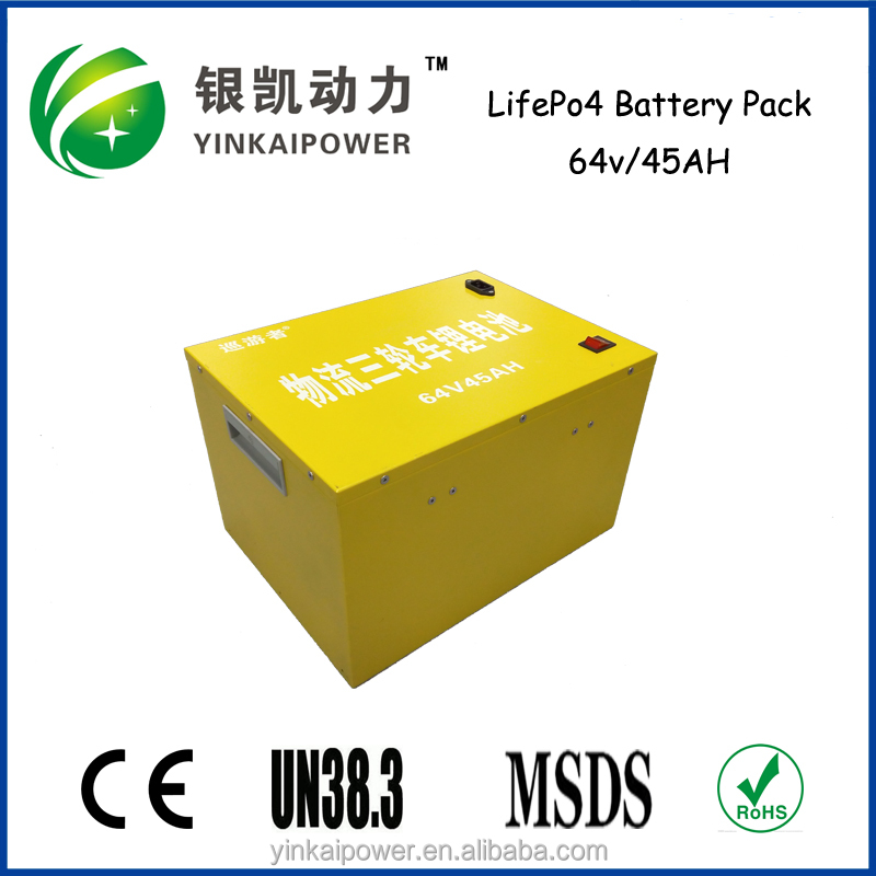 Shenzhen battery pack manufactory supply truck/electric car rechargeable LiFO4 battery IFR 26550 48v 40ah pack