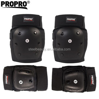 Top quality level knee and elbow pads for skateboard and longboard players protective gears