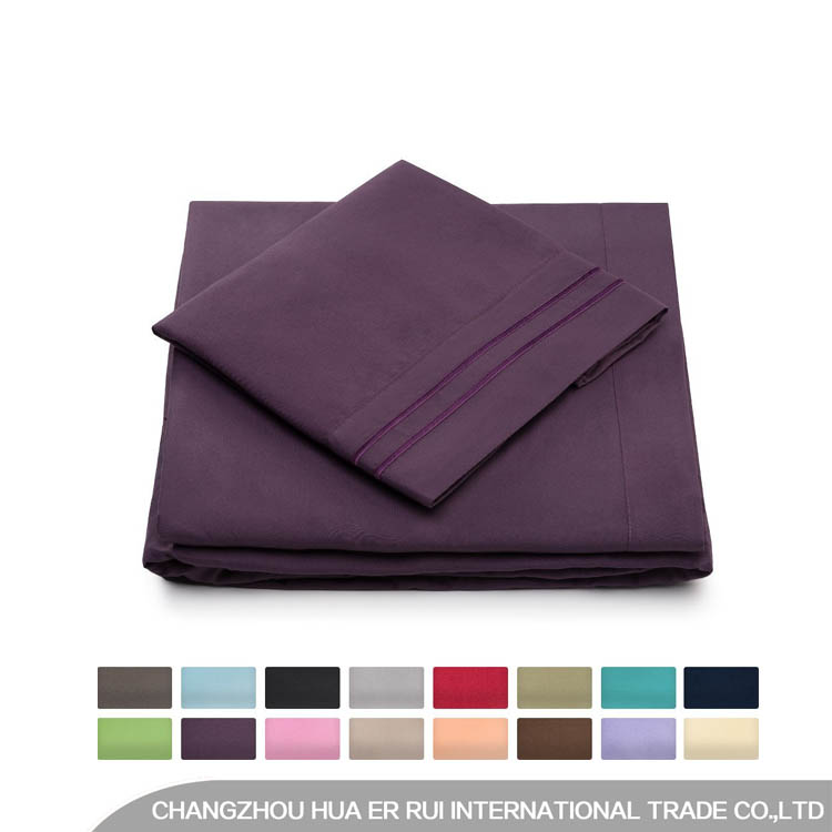 1800 Thread Count Egyptian Cotton Sheet Set/ Microfiber Bed Sheets