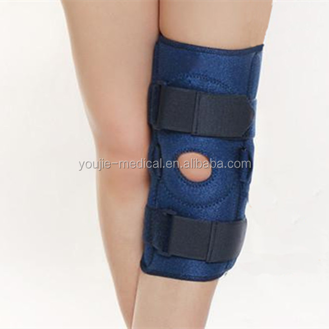 sports safety open patella knee brace relief ligament injury