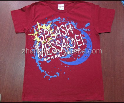 Customized promotional t-shirts for Japanese ,cotton t shirt for Japan