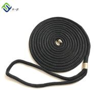 High strength double braided nylon mooring dock line