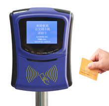 Cashless POS terminal for Bus Fare Collection with 4G and QR Code Automatic Transaction