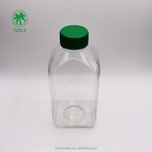 manufacture hot sales 1000ml pet mineral water drinking juice mediical food grade plastic bottle