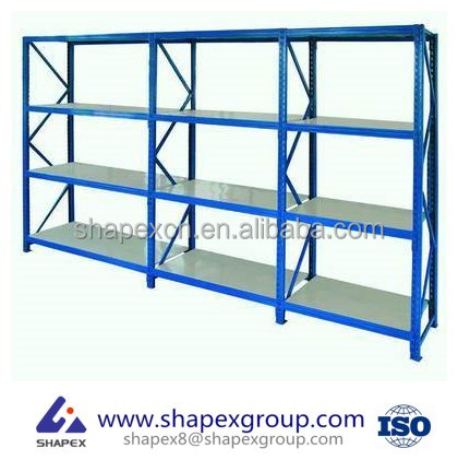 Industrial Metal Shelf System / Warehouse Storage Racking / Automatic