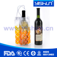 thermal eco cool ice wine bag with handle for promotion