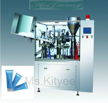 composite plastic tube filling and sealing machine
