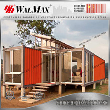 CH-AF001 canadian style prefab house luxury container home from China supplier