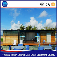 Nice looking in elegant design cheap prefab home wooden house villa luxury log container pack house made in china