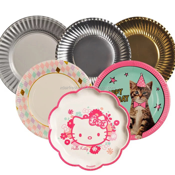 New Cute Eco-friendly disposable plate