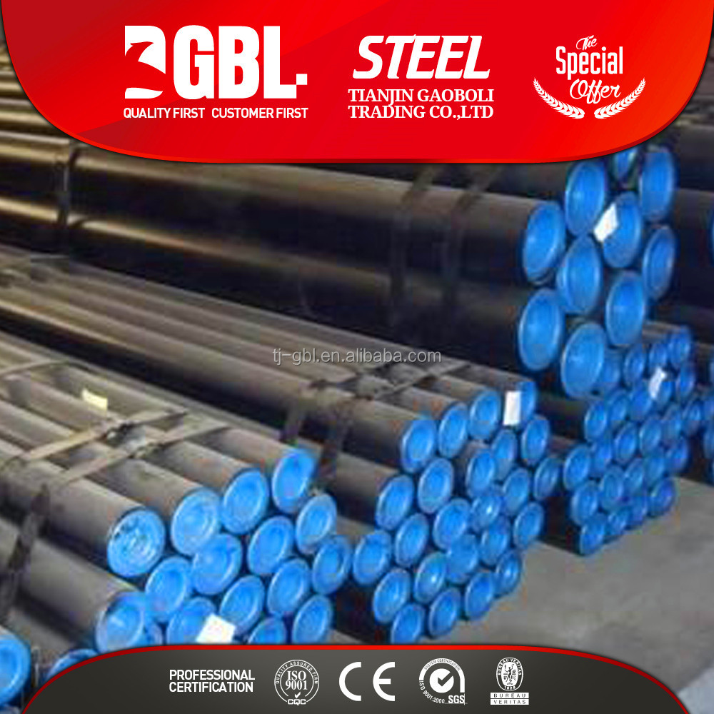 API Oilfield Casing Pipe black galvanized api pipe price with pipe weight chart