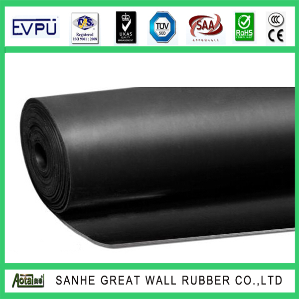 black color best price good performance NBR elastomer with ISO 9001 certificate