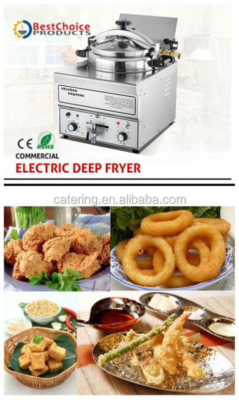 HEF-G1 commercial stainless steel electric pressure fryer