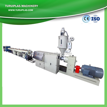 turui best selling high quality pe pipe production line