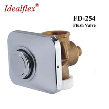 Idela flex WC Brass Timing Delay Flush Valve concealed Wall Mounted