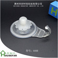 Plastic Strong Suction vacuum cup Home Use Kitchen Cloth bathrobe Towel Bathroom Glass Lock stick wall Hanger Suction Hook