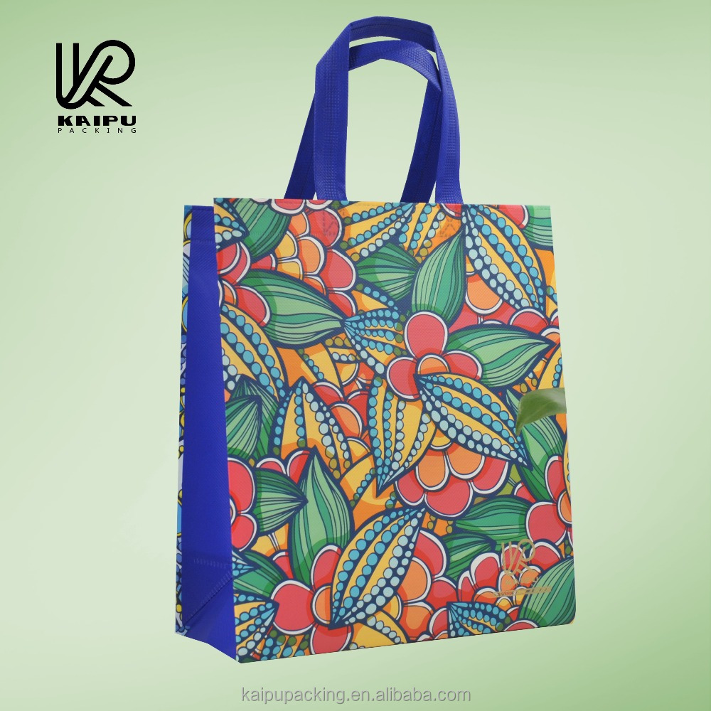 Recycled non woven shopping bags carrier bags
