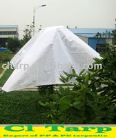 150G PE Tarpaulin with White/White Col for Tent