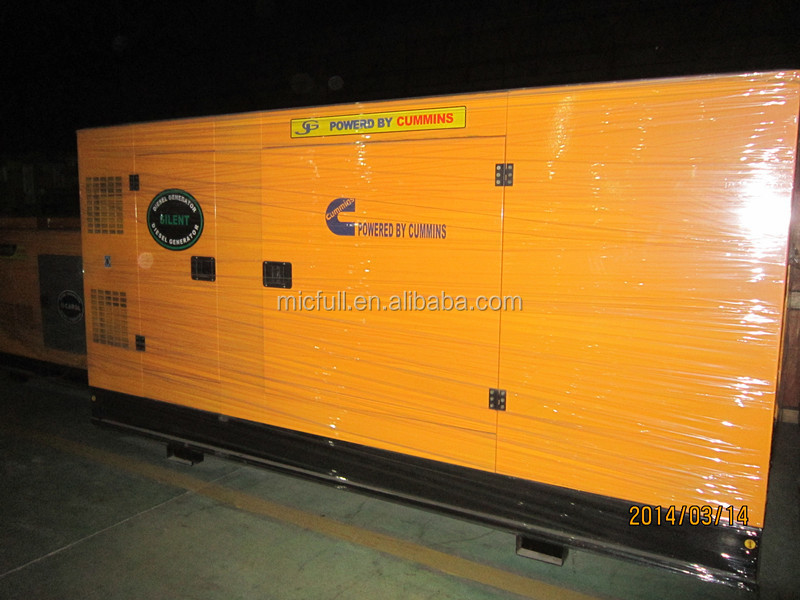 With Cummins Engine 280kw/350kva Hotel Used Diesel Generator Set