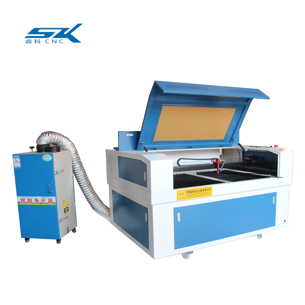 factory price 9013 co2 <strong>laser</strong> cutting/engraving machine with Smoke purifier