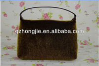 Pretty Cosmopolitan fashion cosmetic bag -fur pattern