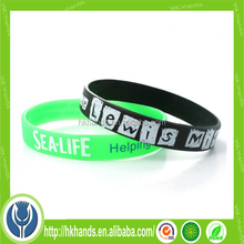 wholesale silicone bracelet ankle bracelet personalized rubber wrist bands