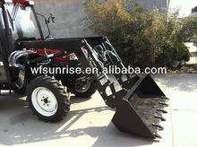 Garden tractor front end loader with CE