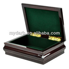 High quality popular wooden jewelry ring display boxes