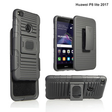 For Huawei P8 lite 2017 High Quality Cellphone Robot Cases, for Huawei P8 lite Kickstand Combo Cover