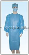 Superior quality SMS surgical gown/anti-static surgical gown/ultrasonic surgical gown